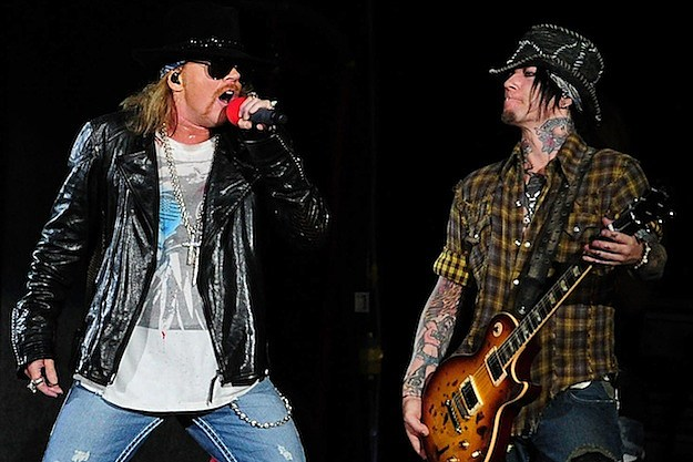 Guns N' Roses' Axl Rose and DJ Ashba