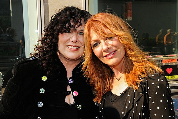 Heart's Ann and Nancy Wilson