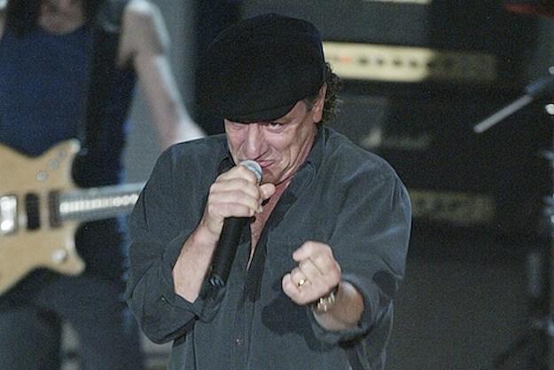 AC/DC's Brian Johnson