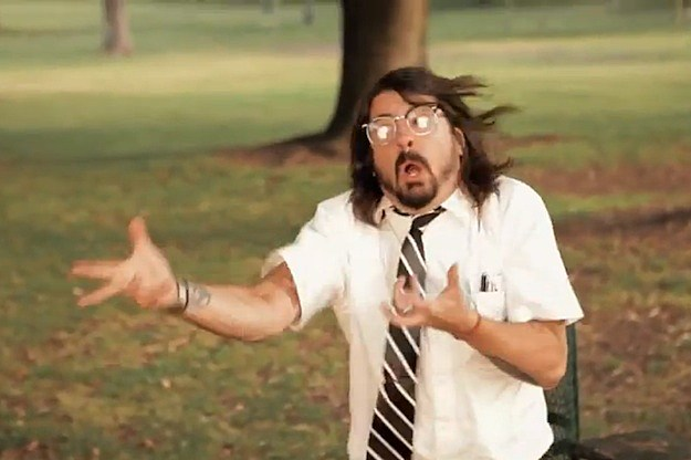 Dave Grohl Walk Video Still