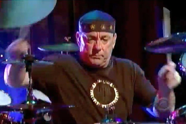 Rush's Neil Peart on Letterman