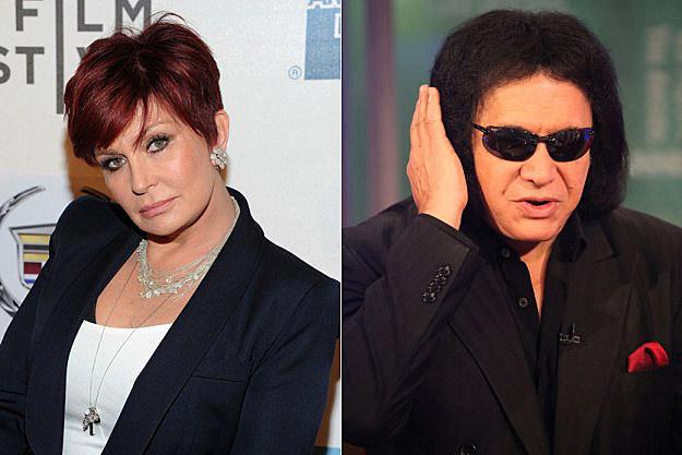 Sharon Osbourne / Gene Simmons