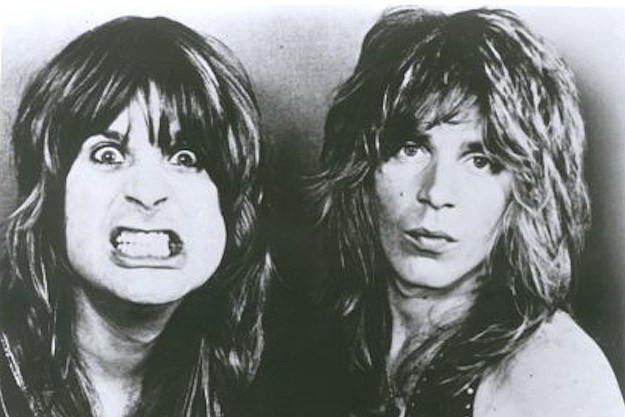 Ozzy Osbourne and Randy Rhoads