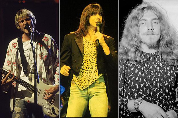 Kurt Cobain / Steve Perry / Robert Plant