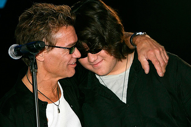 Eddie and Wolfgang Van Halen