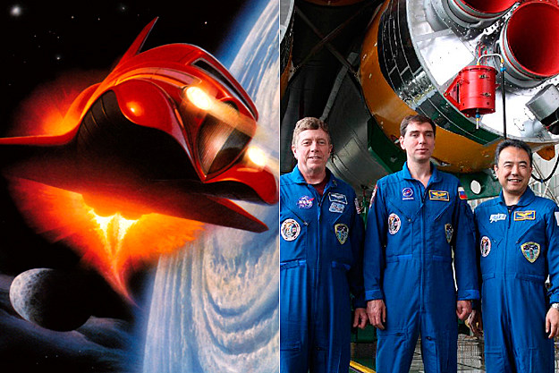 ZZ Top Afterburner / Soyuz Expedition 28 Crew Members