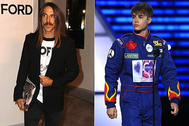Anthony Kiedis / Justin Bieber