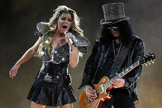 Fergie and Slash