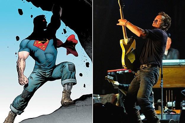 Superman / Bruce Springsteen