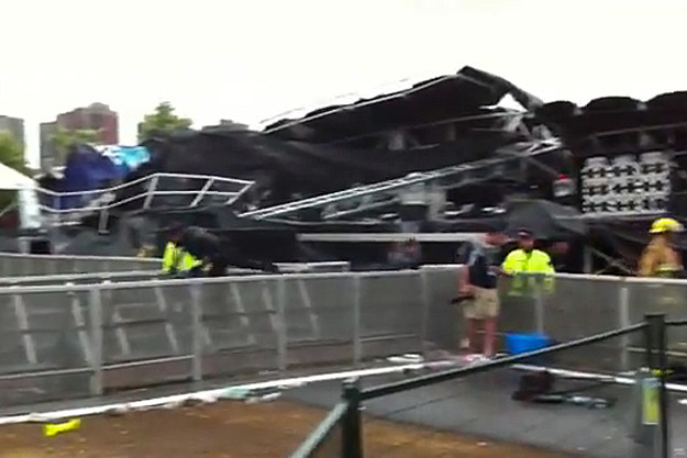 Ottawa Bluesfest Stage Collapse