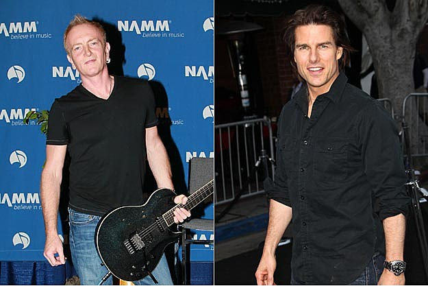 Phil Collen, Tom Cruise
