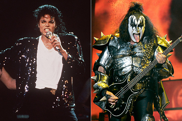 Michael Jackson / Gene Simmons