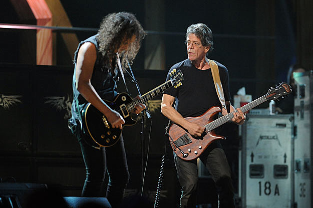 Metallica, Lou Reed