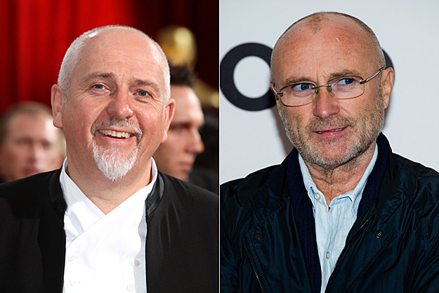 Peter Gabriel / Phil Collins