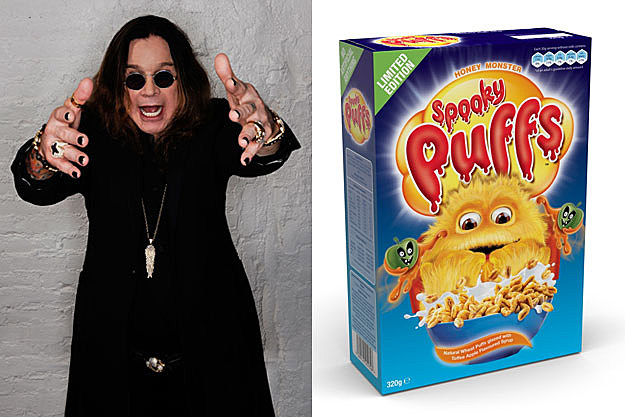 Ozzy Osbourne and Spooky Puffs