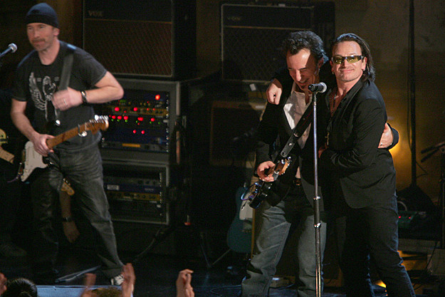 Bruce Springsteen and U2