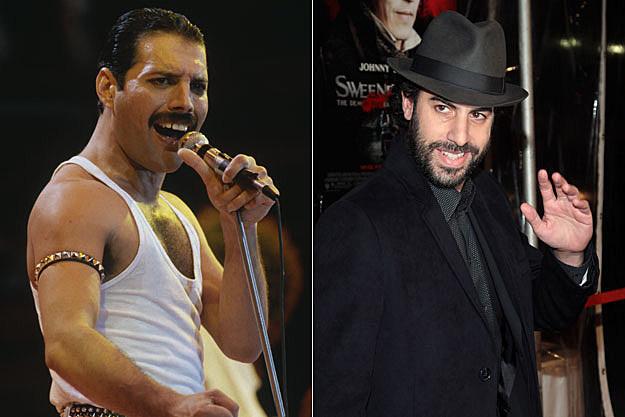 Freddie Mercury, Sacha Baron Cohen