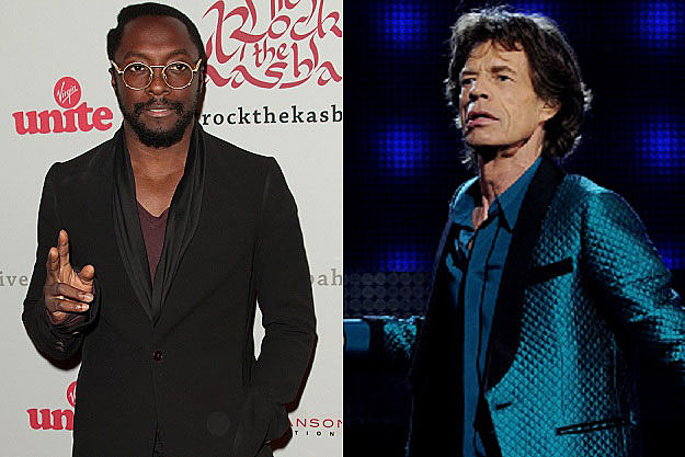 Will.i.am, Mick Jagger