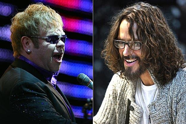 Elton John, Chris Cornell