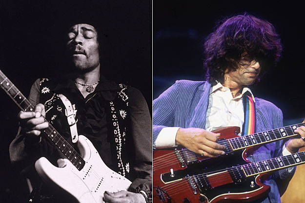 Jimi Hendrix, Led Zeppelin