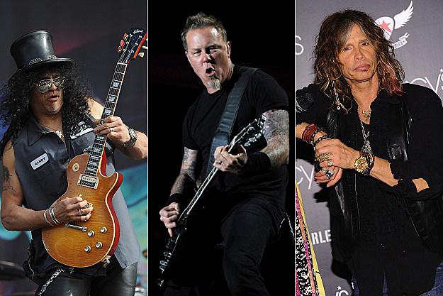 Slash / James Hetfield / Steven Tyler