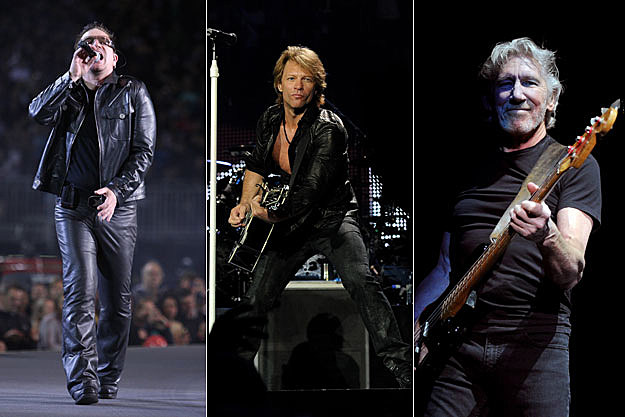 U2, Bon Jovi, and Roger Waters