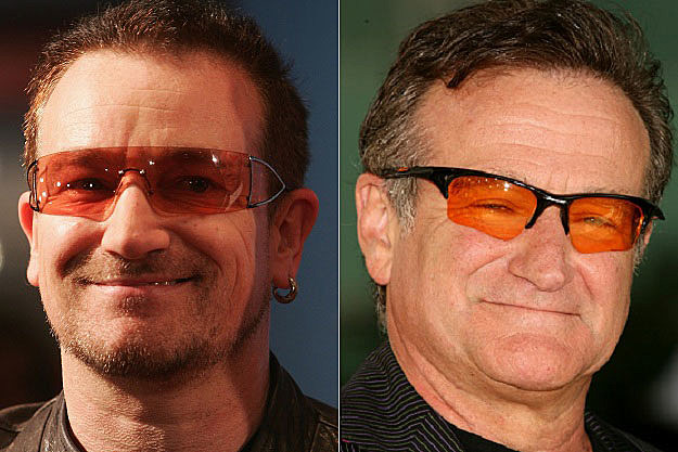 Bono Robin Williams