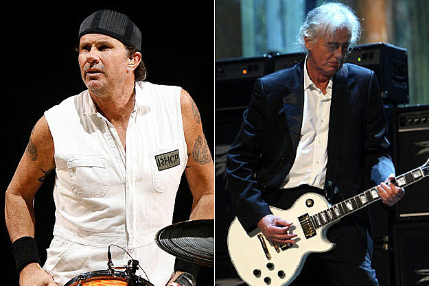 Chad Smith Jimmy Page