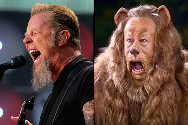 James Hetfield Cowardly Lion