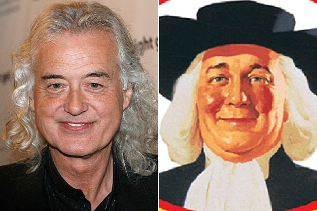 Jimmy Page Quaker Oats Man