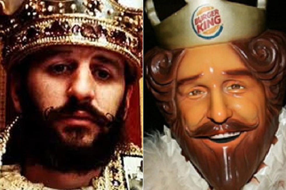 Ringo Starr The Burger King Rock Star Look Alikes