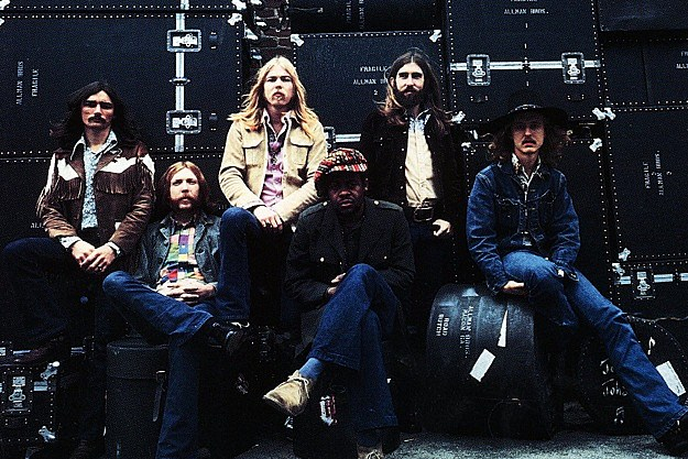 Almost Exactly One Year After Allman Brothers Band Guitarist Duane Allman Was Killed On Oct 29 1971 In A Motorcycle Accident In Macon Georgia