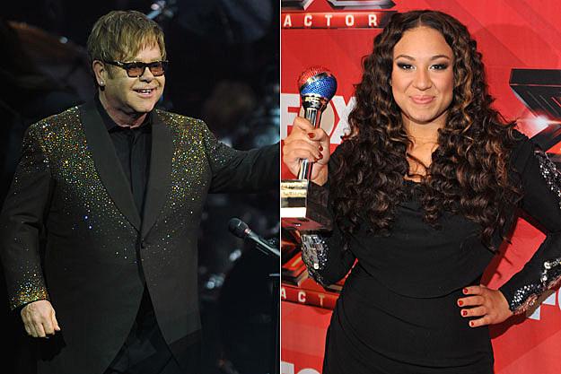 Elton John, Melanie Amaro