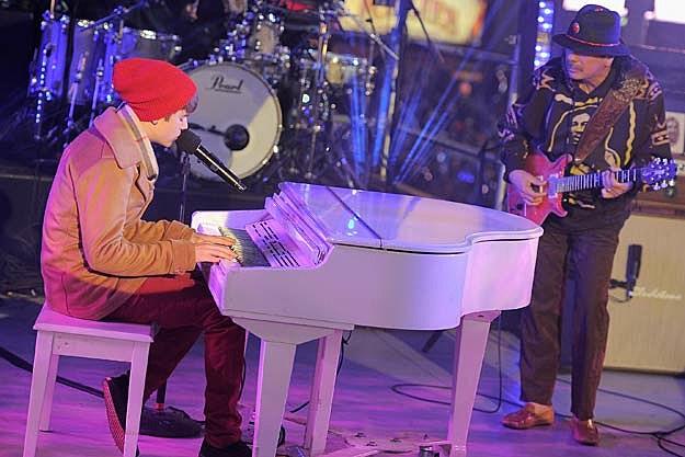 Justin Bieber, Santana