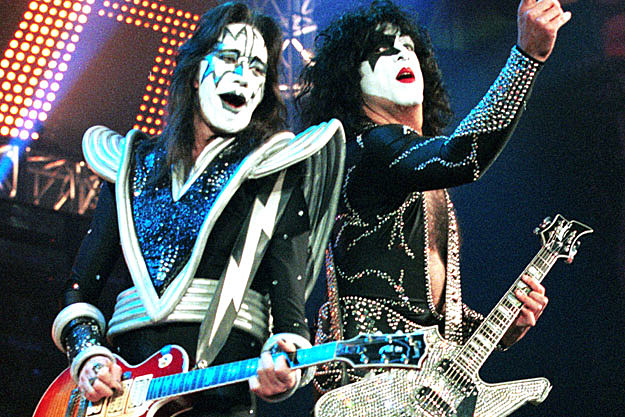 Ace Frehley and Paul Stanley