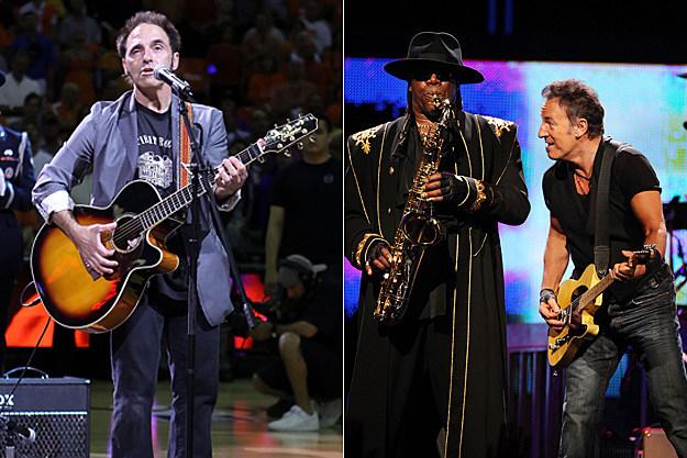 Nils Lofgen, Clarence Clemons, Bruce Springsteen