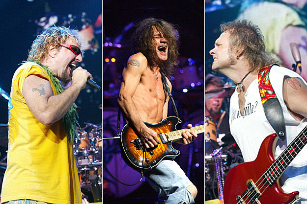 Sammy Hagar / Eddie Van Halen / Michael Anthony