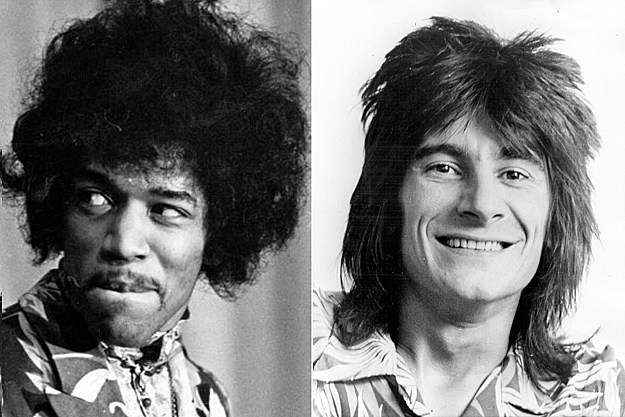 Jimi Hendrix, Ronnie Wood