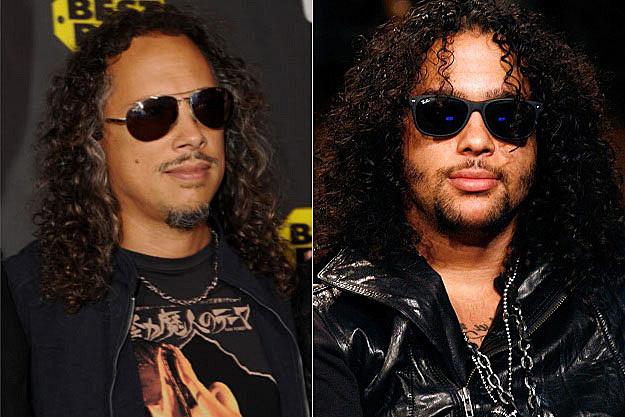 Kirk Hammett and Sky Blu