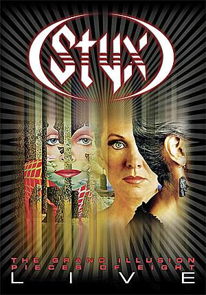 Styx Grand Illusion Pieces Of Eight Tour Dvd
