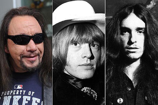 Ace Frehley, Brian Jones, Cliff Burton