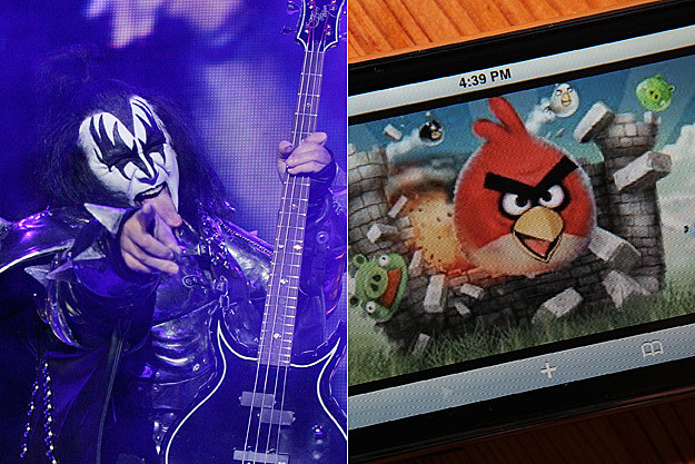 Gene Simmons Angry Birds