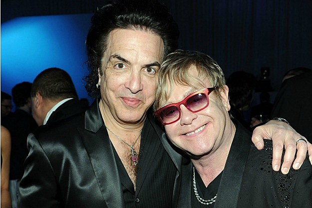 Elton John and Paul Stanley