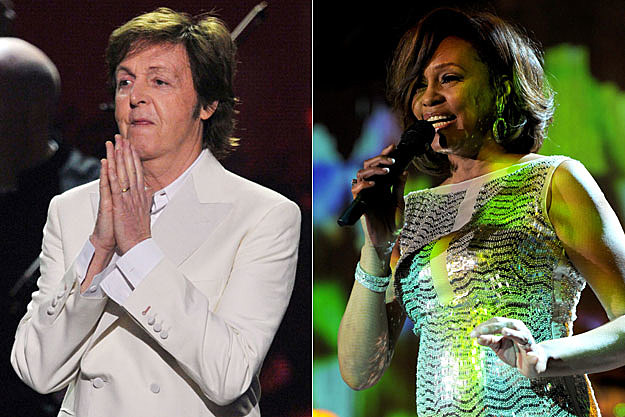 Paul McCartney, Whitney Houston
