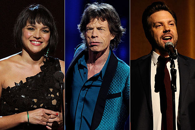 Norah Jones, Mick Jagger, Jason Sudeikis