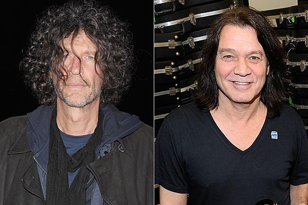 Howard Stern, Eddie Van Halen