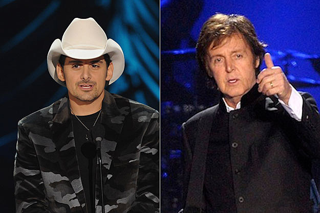 Brad Paisley, Paul McCartney