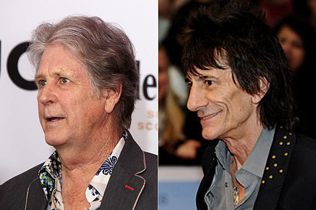 Brian Wilson, Ronnie Wood