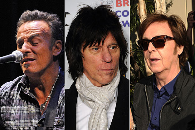 Bruce Springsteen, Jeff Beck, Paul McCartney