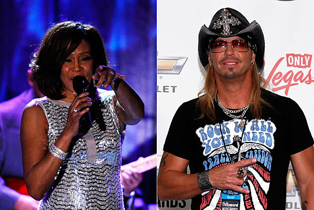 Whitney Houston, Bret Michaels